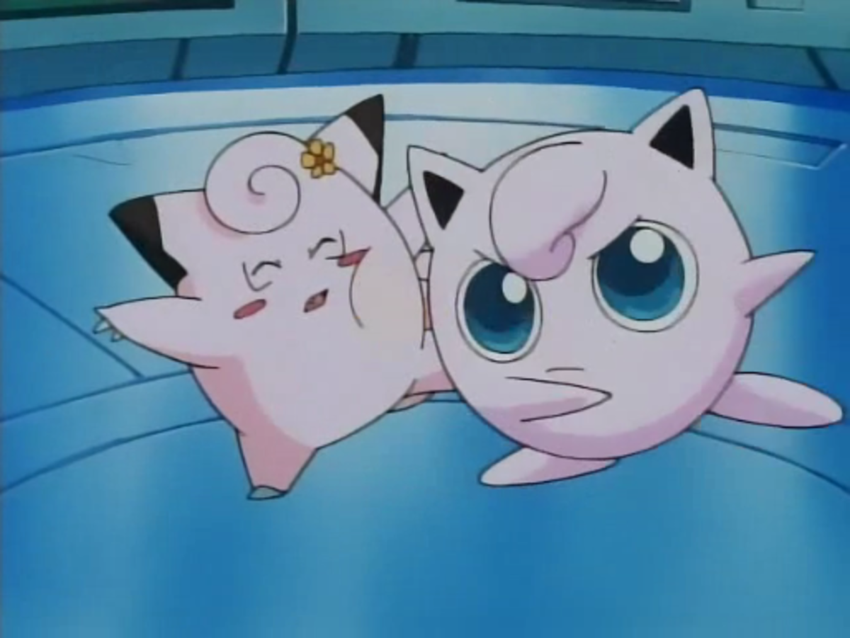 Jigglypuff can be unpredictable - and mean - sometimes.