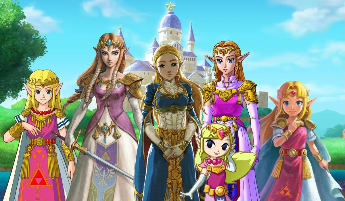 So many Zeldas!