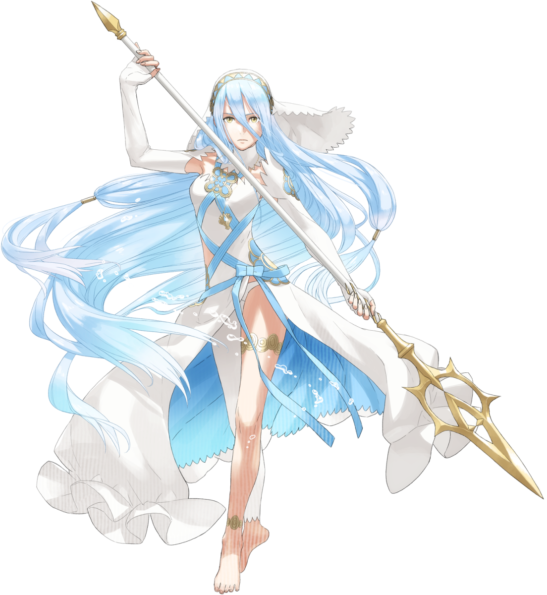 Azura is an important character in Fire Emblem Fates