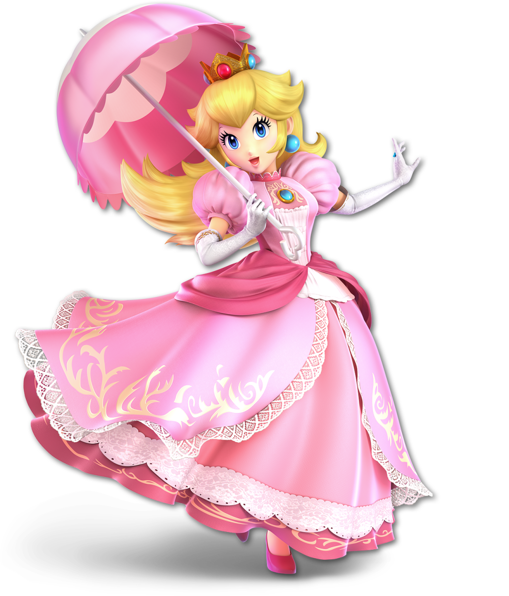 Princess Peach is notorious for getting kidnapped.