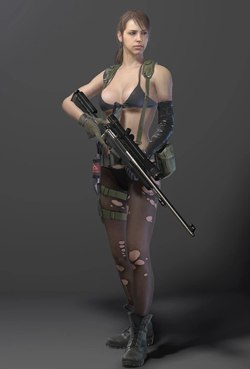 "Quiet from ""Metal Gear Solid V: The Phantom Pain"""