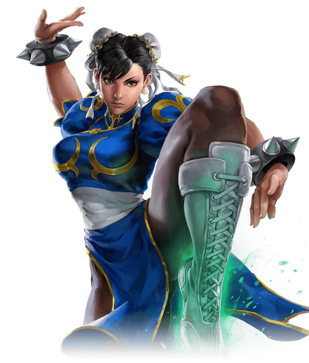 Chun Li  is the female character to appear in a fighting video game franchise.