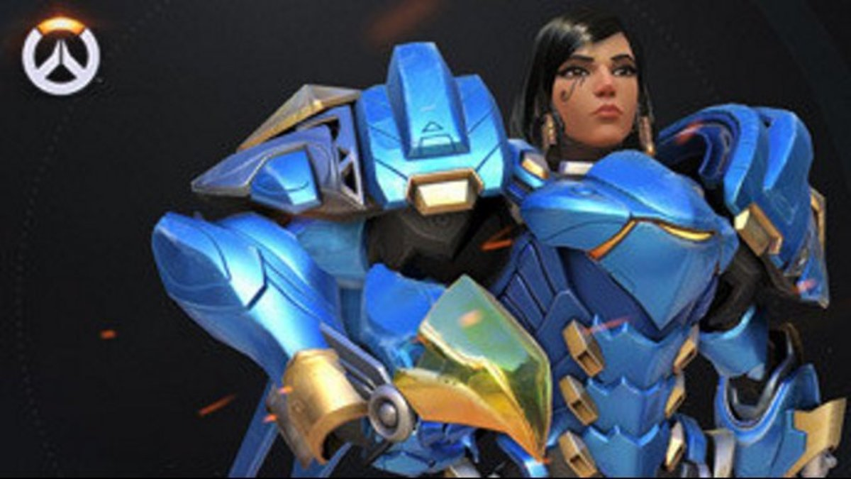 "There are a few hotties in ""Overwatch,"" but Pharah takes the cake!"