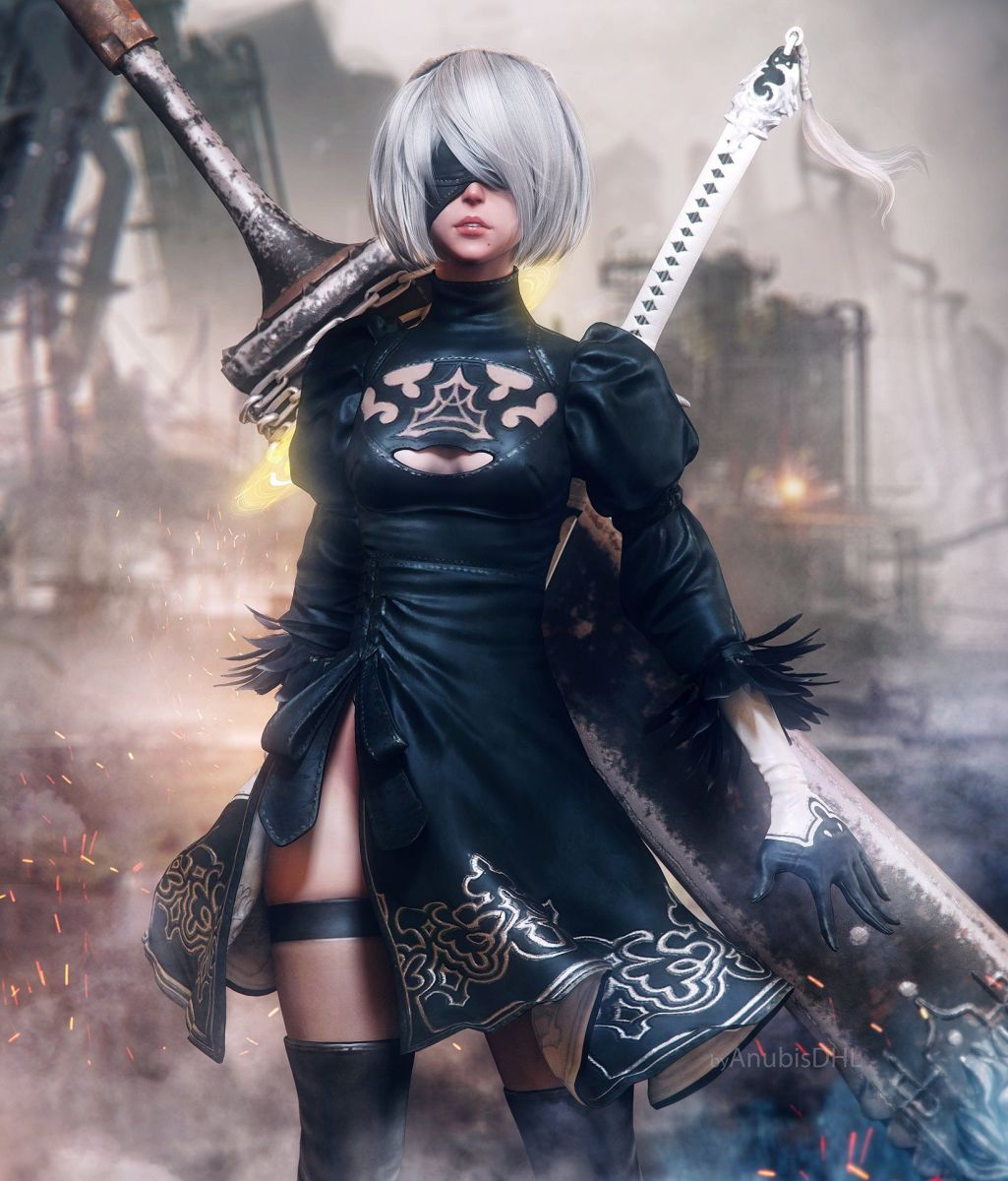 "2B made up for the slight disappointment that ""NieR: Automata"" was."