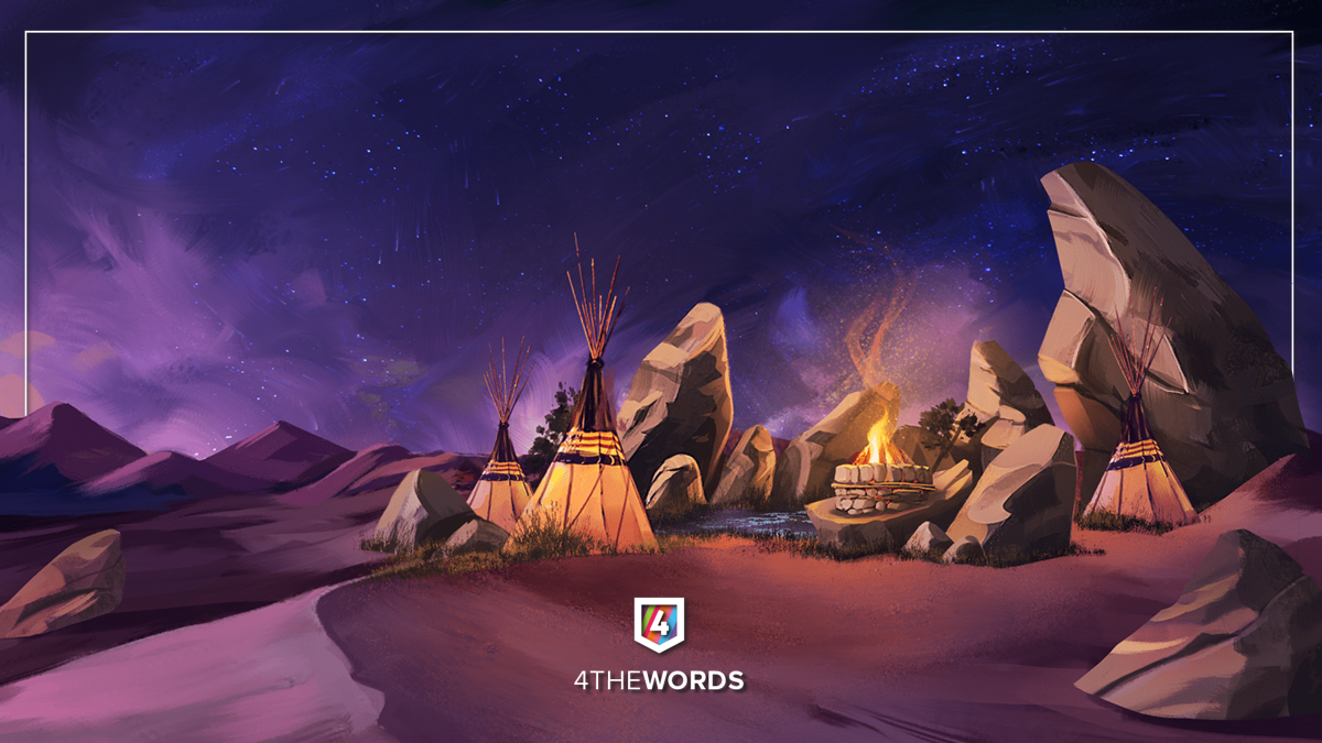 During certain times of the year special events are run by the 4thewords team and new and fantastical areas of the map are opened up to users