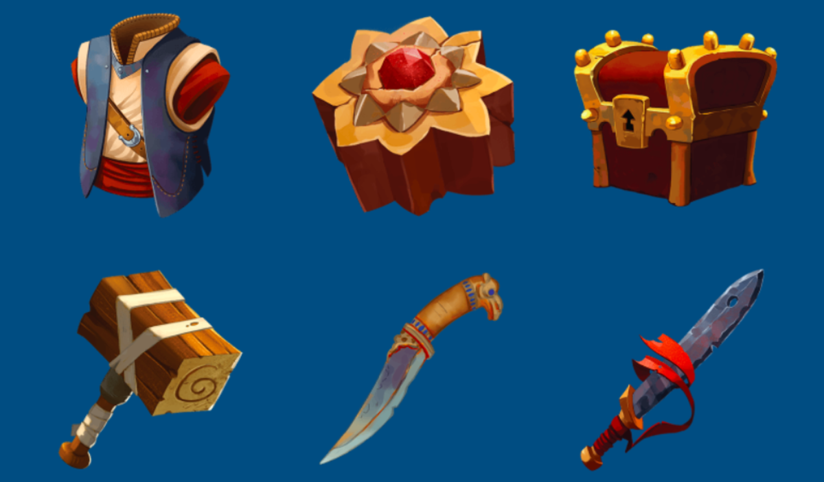 4thewords users can craft weapons and armour and unlock chests with extra goodies inside!