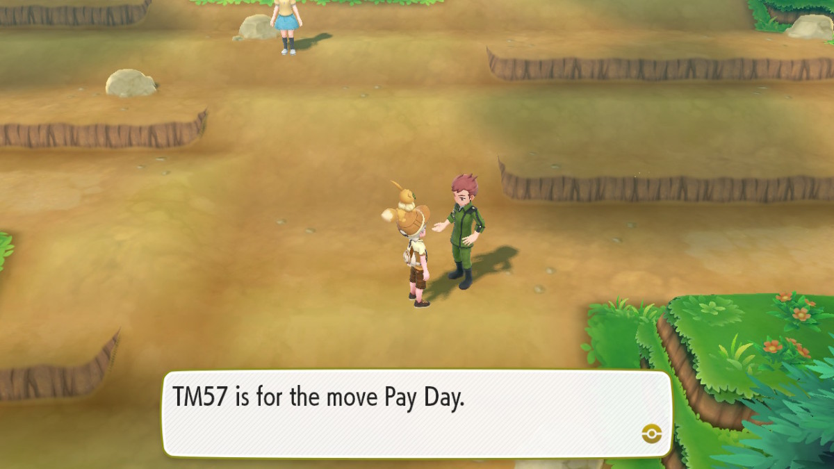 Get Pay Day TM from the Coach Trainer on Route 3