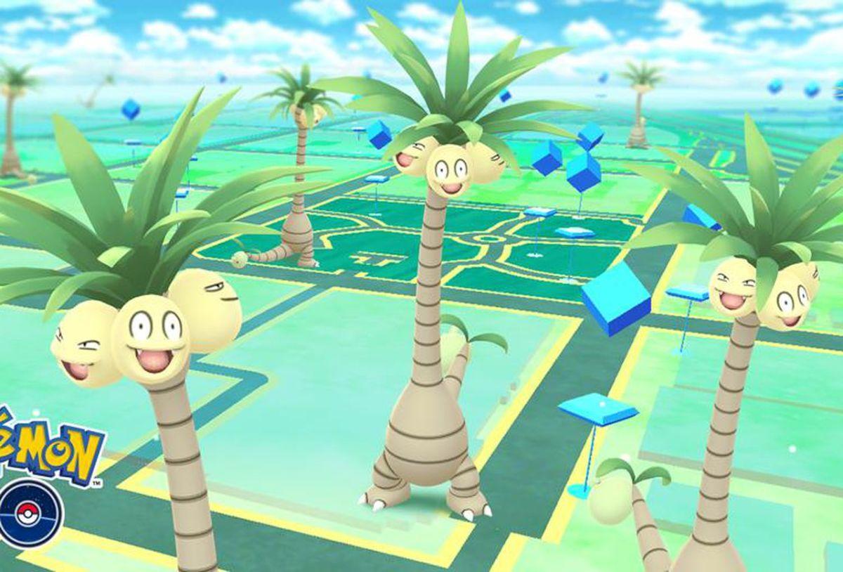 """Alolan Exeggutor in """"Pokémon GO"""""""