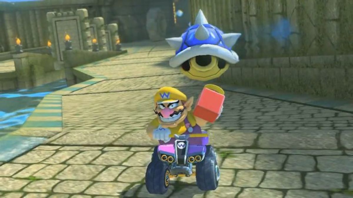 Blue shells aren't the beginning of the end for those in first place!