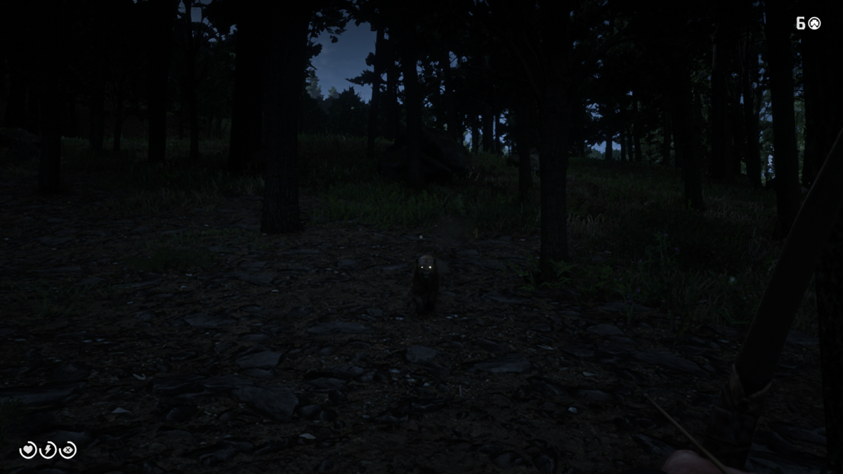 Just don't try hunting them at Night. (Note: I hope you appreciate the fact I had to change my drawers after taking this screenshot, you're welcome.)