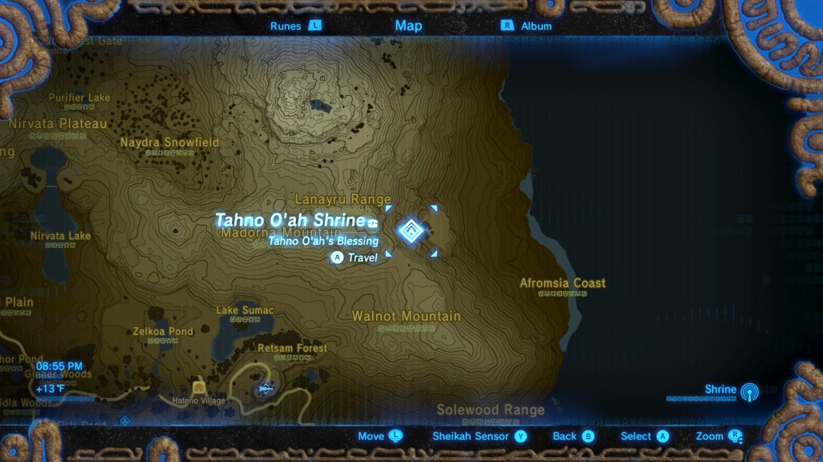 Tahno O'ah Shrine