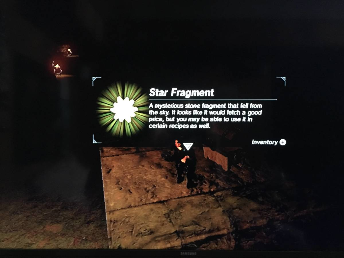 You can find a star fragment in one of the many chests in this area.