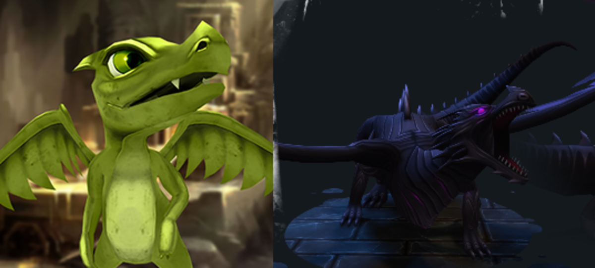 "(""WoC"") Dark Dragon Daagon"