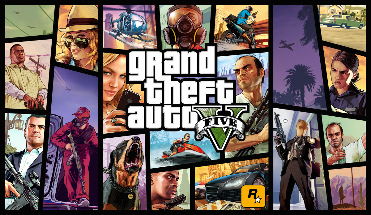 """GTA V"" Cover Art"