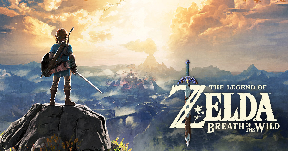 """The Legend of Zelda: Breath of The Wild"" Cover Art"