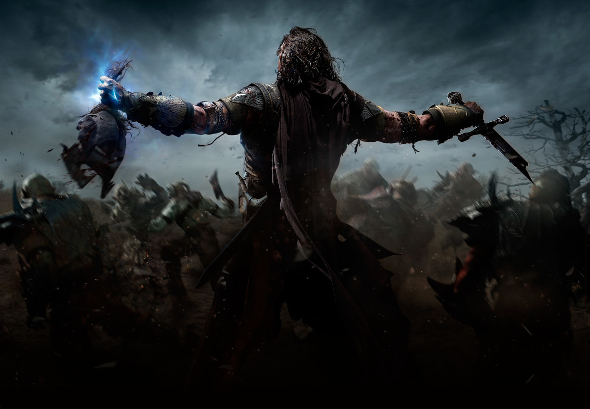 """Middle Earth: Shadow of Mordor"" Cover Art"