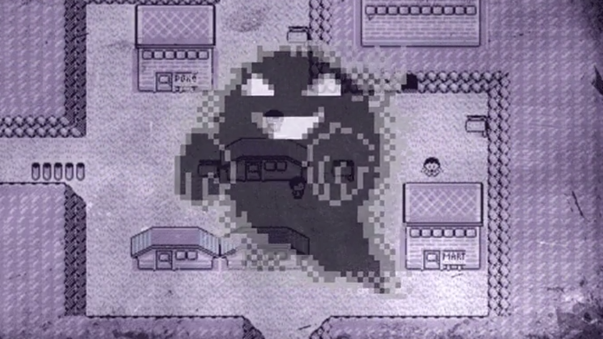 Eerie music can be heard throughout Lavender Town in the Kanto region of Pokemon. This town gives off a creepy aura.