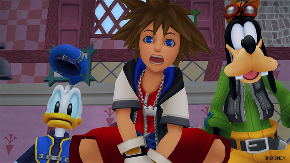 Screenshot from Square Enix