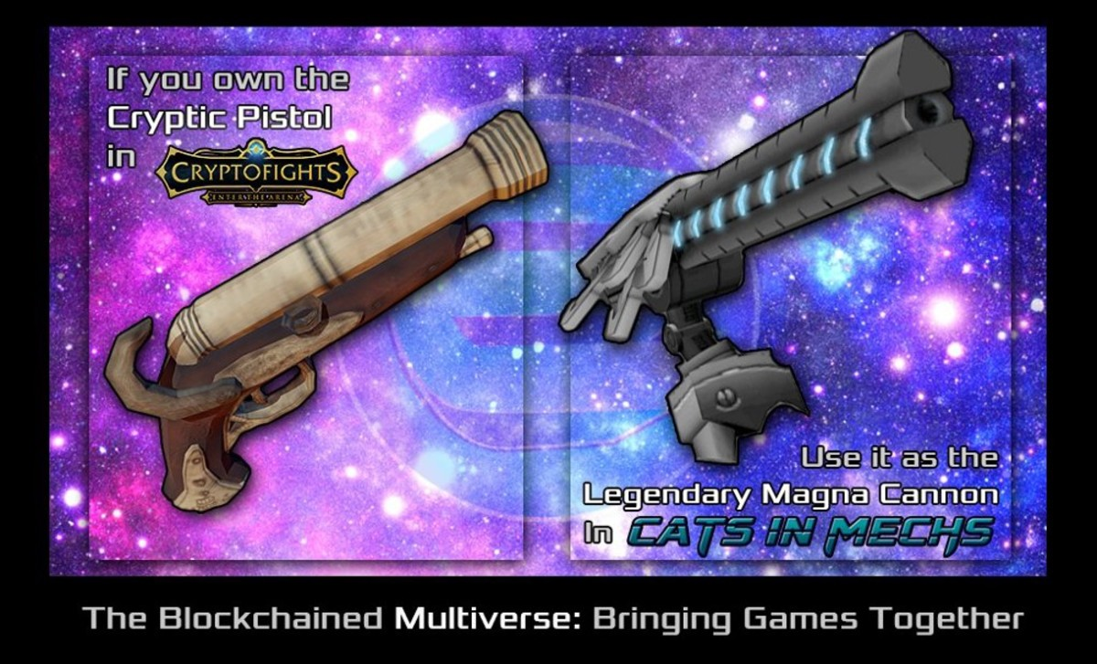 Legendary Weapons can be used in other Enjin Games!
