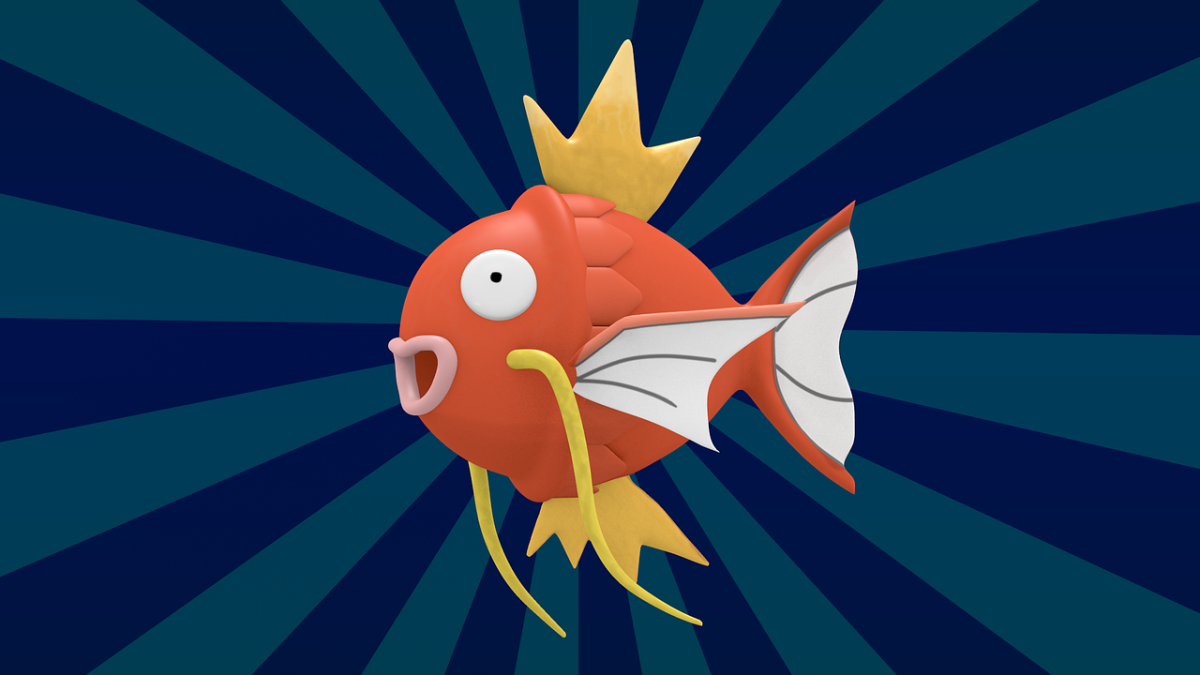 Magikarp is a water-type fish Pokemon. The best nicknames for this critter are those that are full of puns and fishiness.