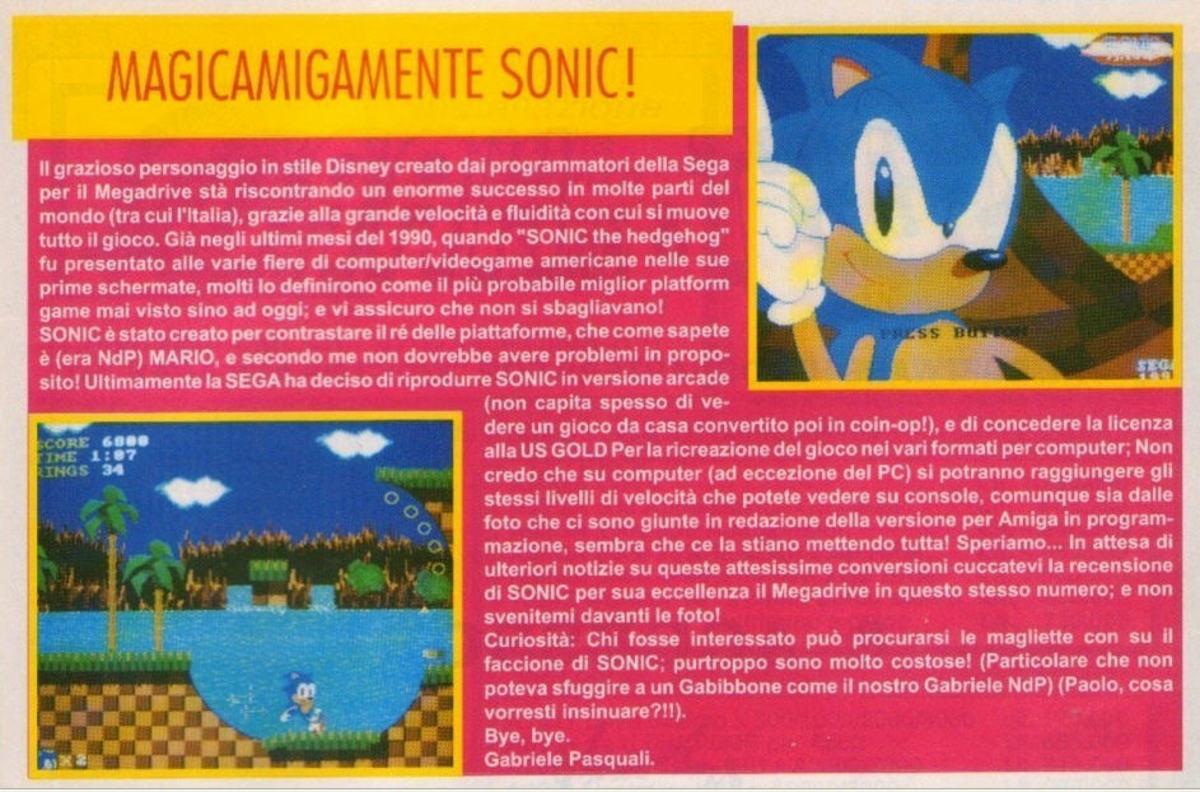 Sonic the Hedgehog - Amiga - 1991