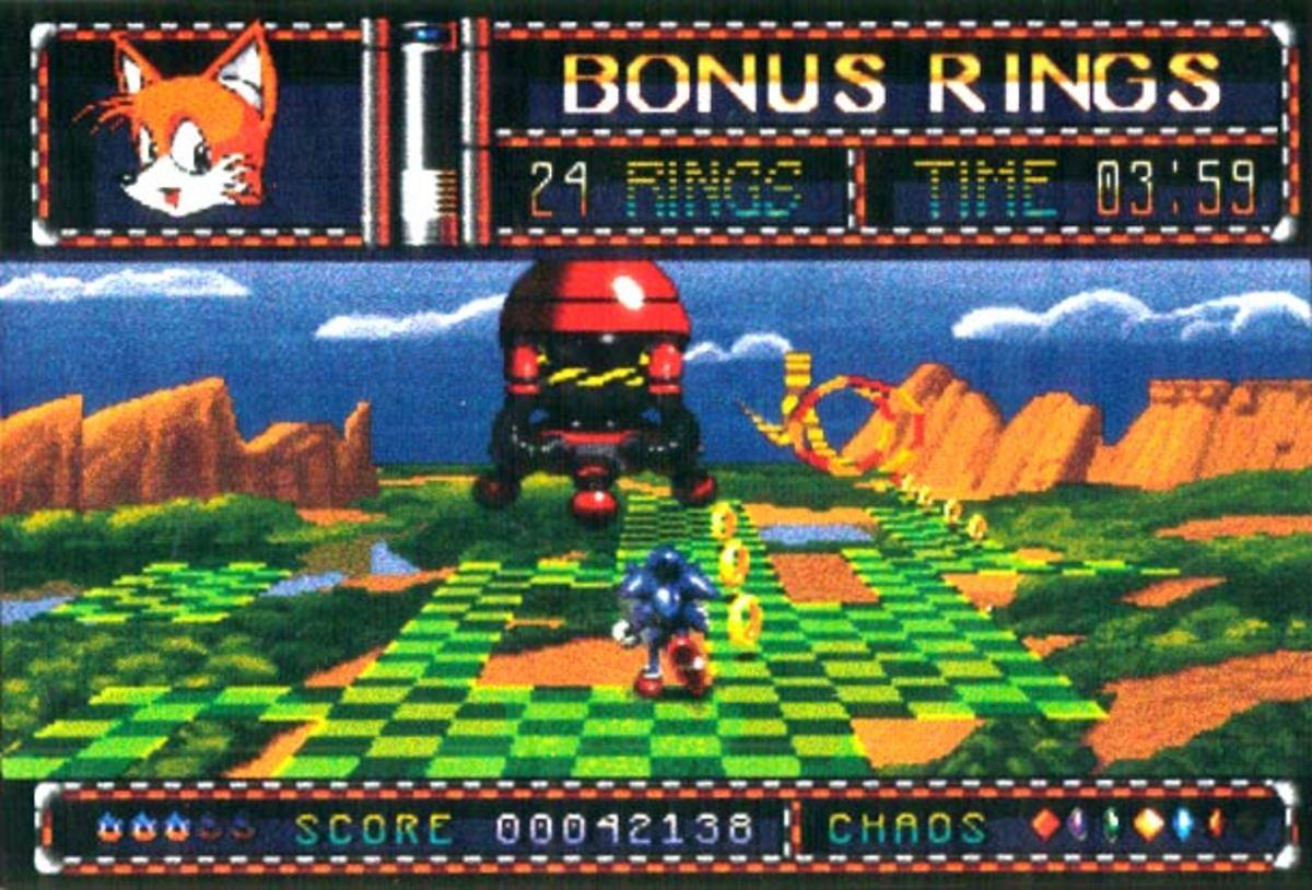 Sonic Mars  -  32X  -  1994