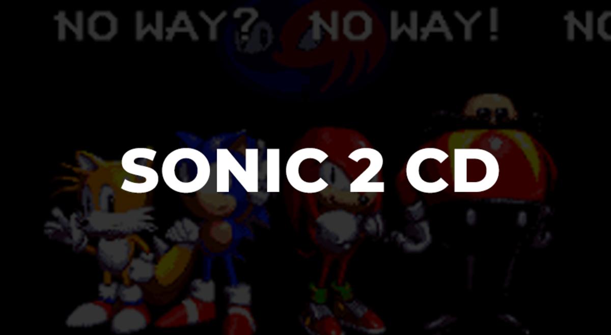 Sonic 2 CD - Mega CD - 1992