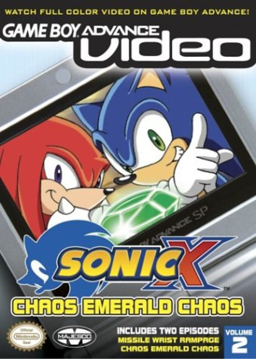 Sonic X: Chaos Emerald Chaos GBA Video 2004