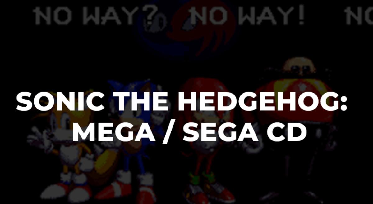 Sonic The Hedgehog - MEGA CD - 1992