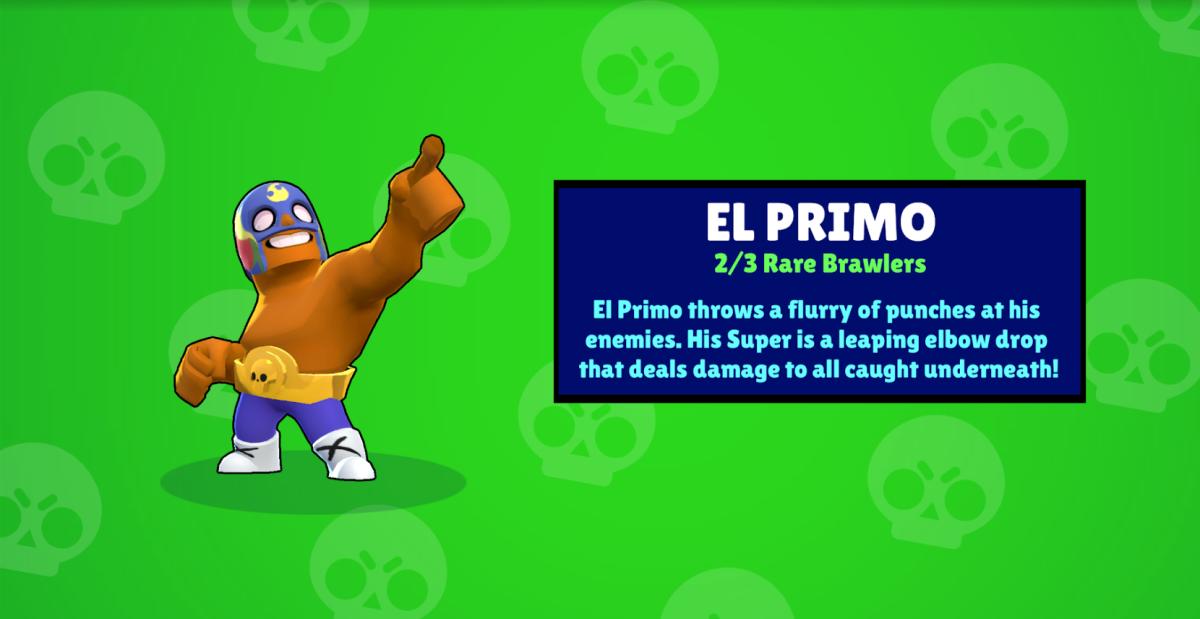 Unlocking El Primo From a Box