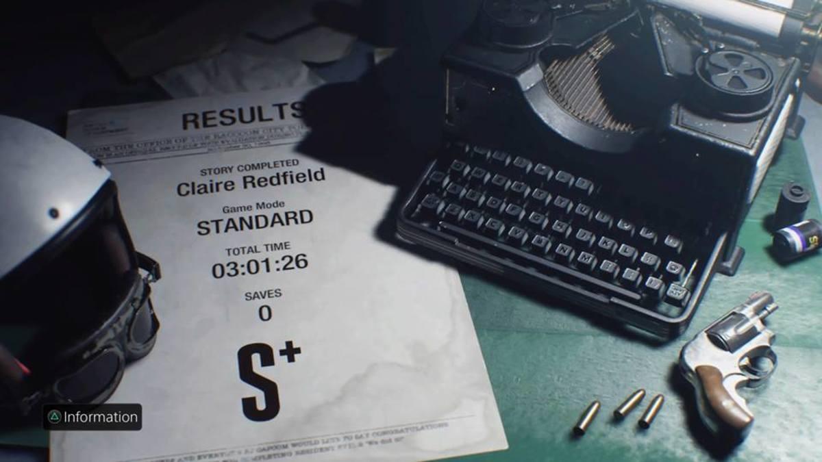 A speedrun Result