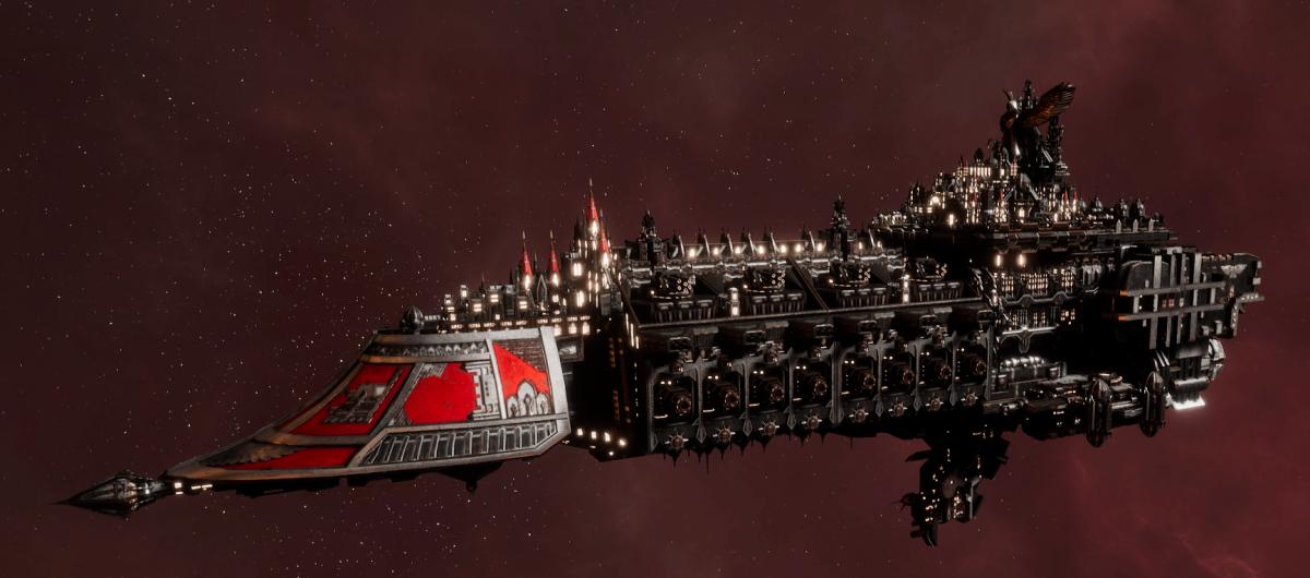 Imperial Navy Grand Cruiser - Vengeance Class  (Koronus Sub-Faction)