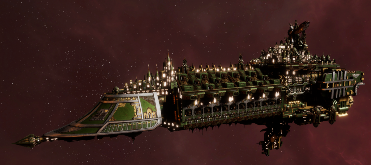 Imperial Navy Grand Cruiser - Avenger Class (Bakka Sub-Faction)