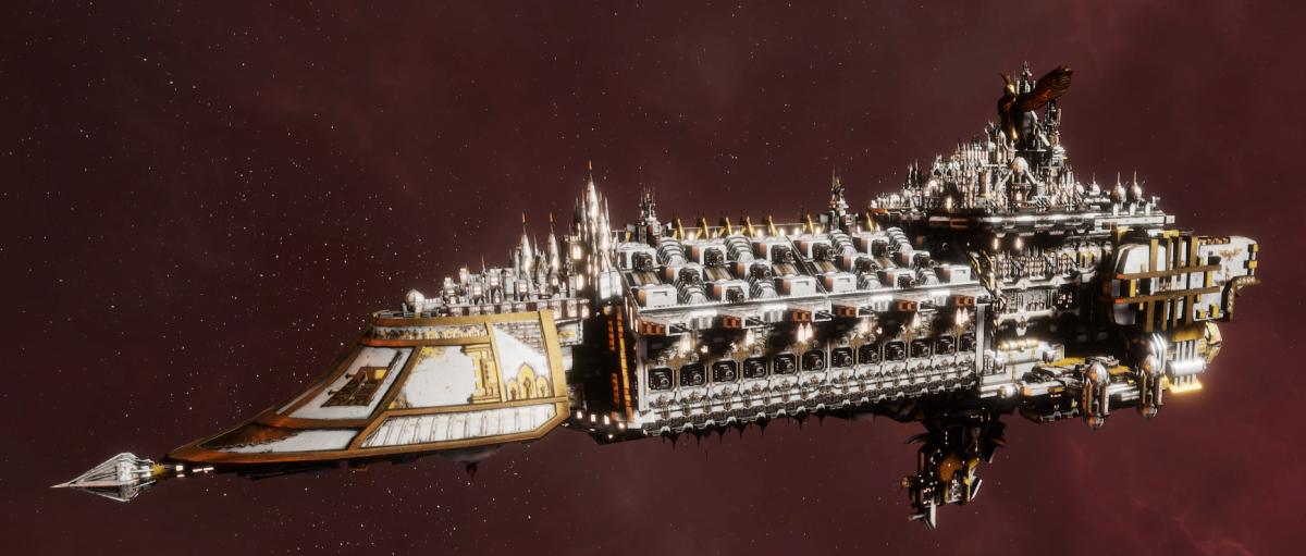 Imperial Navy Grand Cruiser - Avenger Class (Solar Sub-Faction)