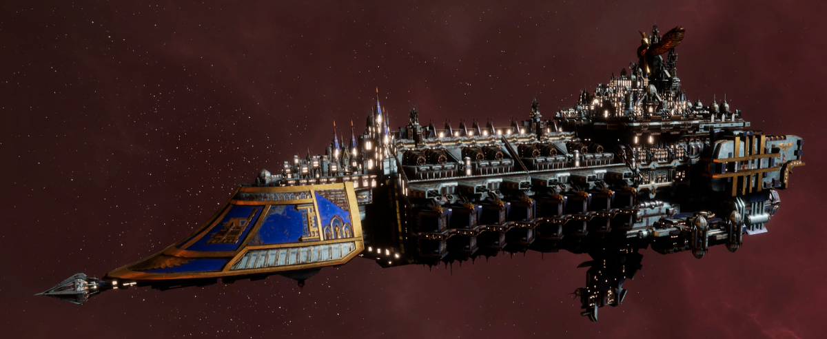 Imperial Navy Grand Cruiser - Exorcist Class (Bastion Sub-Faction)