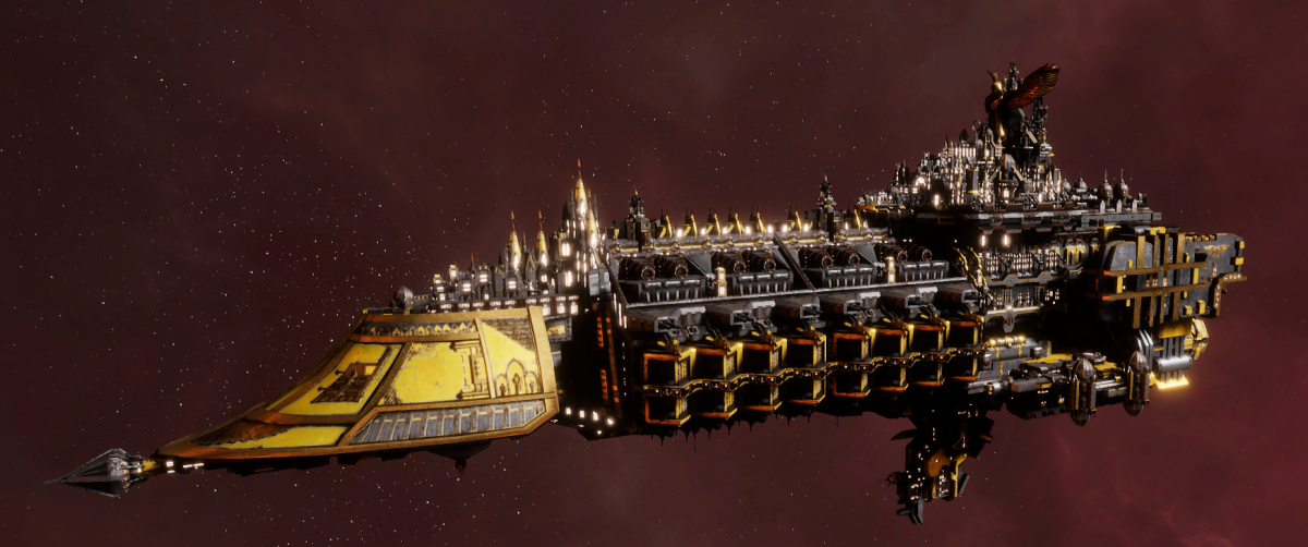Imperial Navy Grand Cruiser - Exorcist Class (Armageddon Sub-Faction)