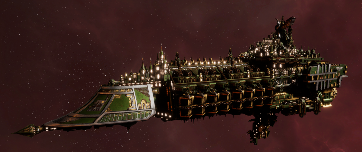 Imperial Navy Grand Cruiser - Exorcist Class (Bakka Sub-Faction)