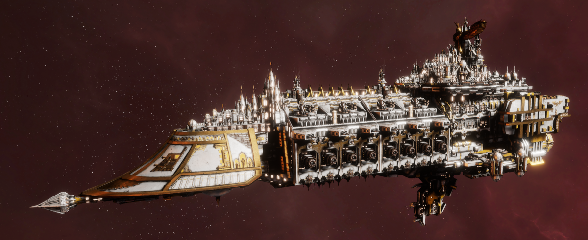 Imperial Navy Grand Cruiser - Vengeance Class  (Solar Sub-Faction)
