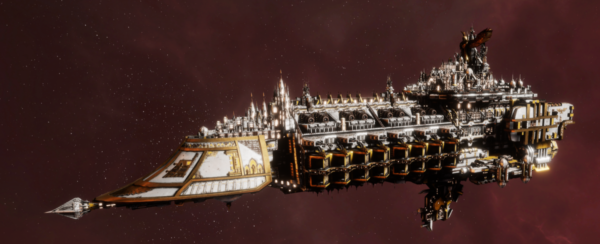 Imperial Navy Grand Cruiser - Exorcist Class (Solar Sub-Faction)