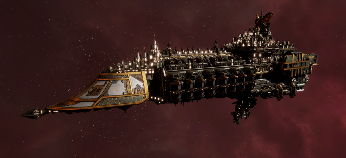 Imperial Navy Grand Cruiser - Exorcist Class (Gothic Sub-Faction)