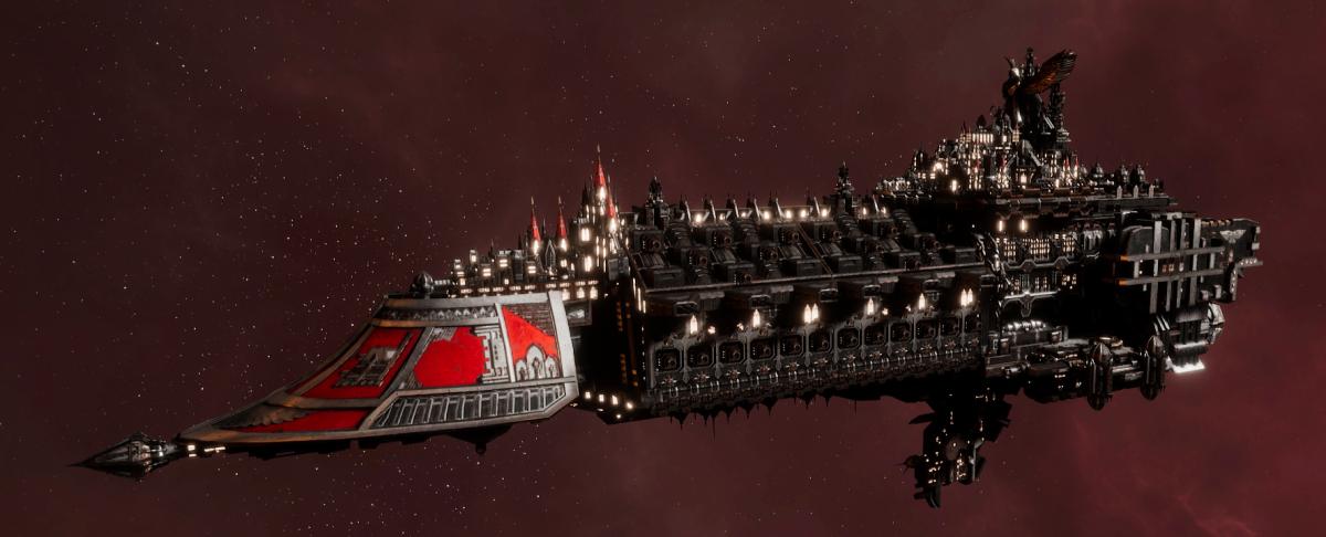 Imperial Navy Grand Cruiser - Avenger Class (Koronus Sub-Faction)