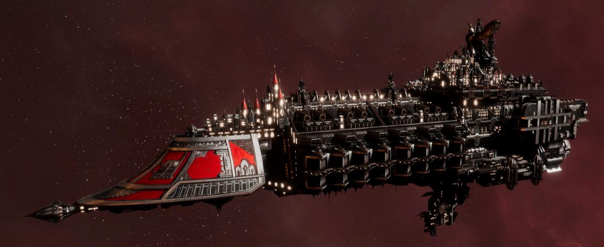 Imperial Navy Grand Cruiser - Exorcist Class (Koronus Sub-Faction)
