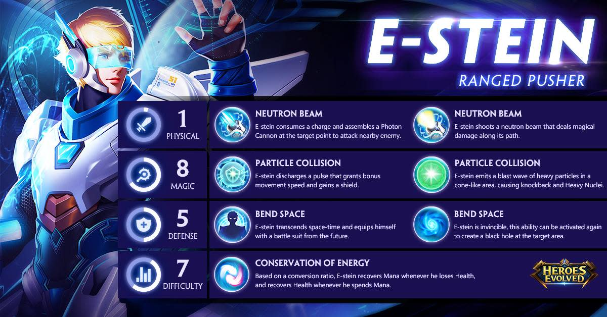 Heroes Evolved Mobile: E-Stein Guide