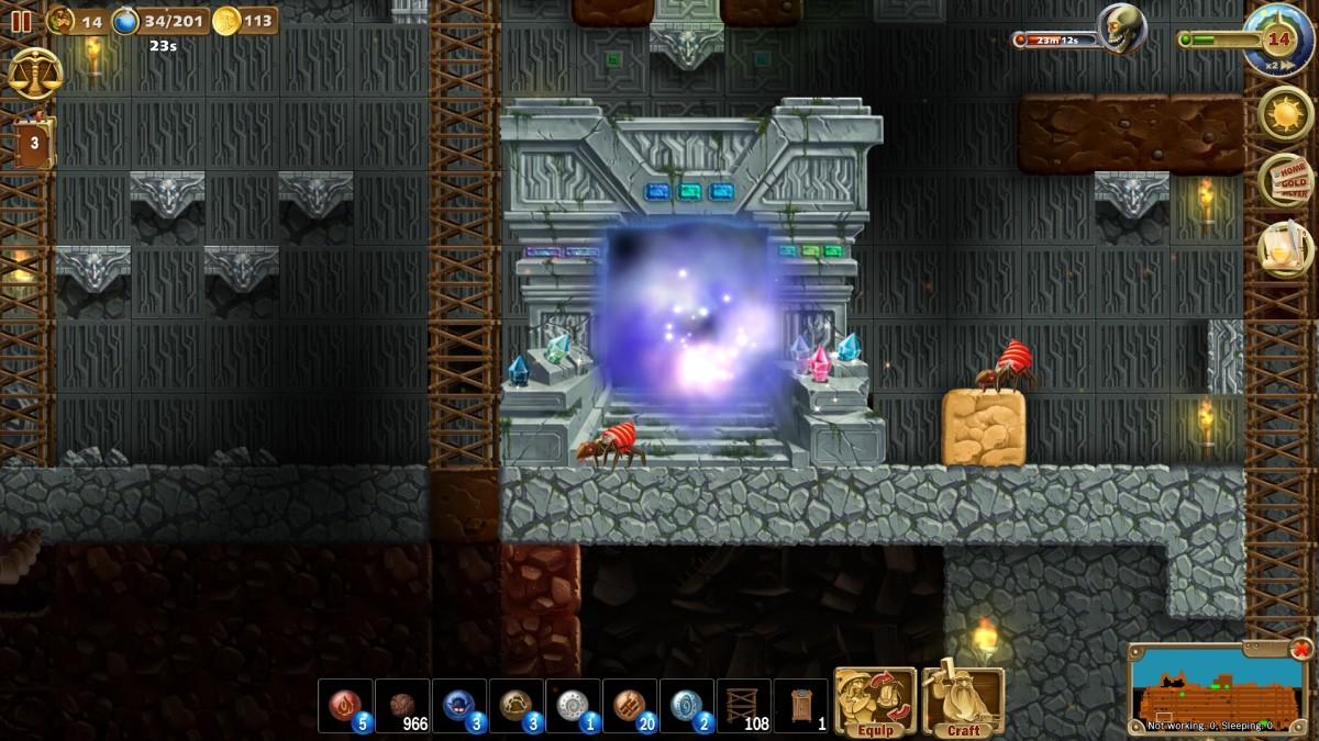 Craft the World Portal