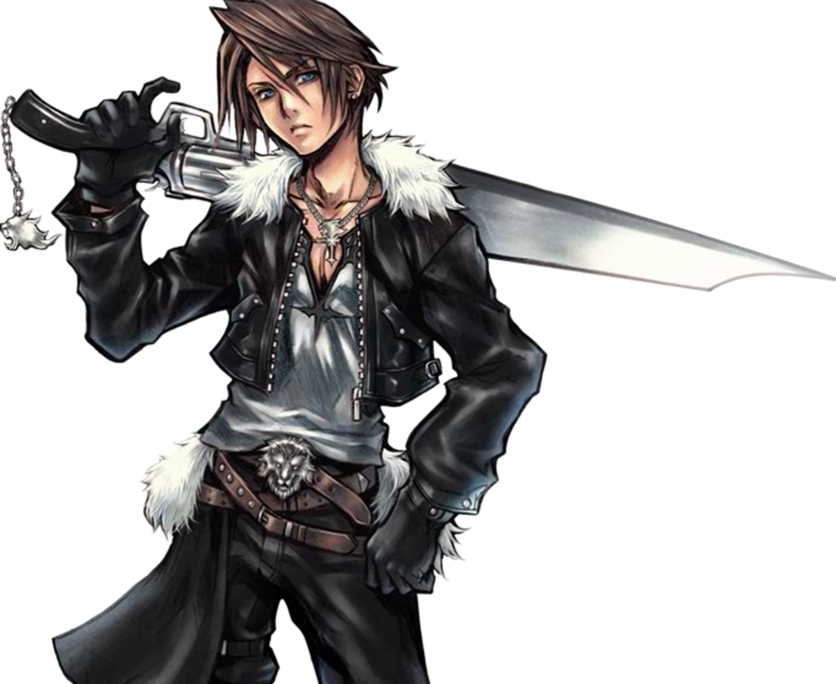 Squall in Dissidia 012
