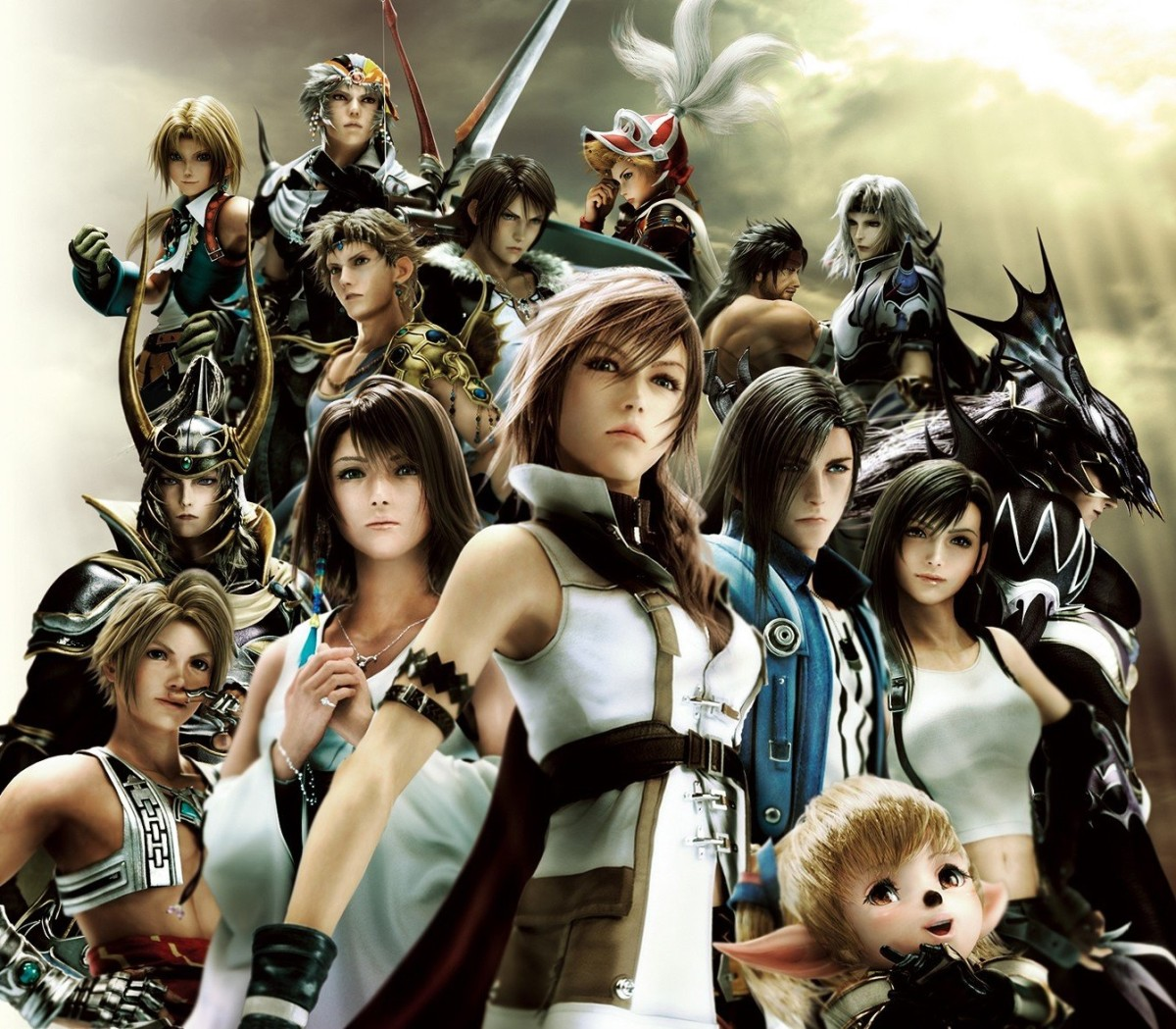 Cosmos's warriors in Dissidia 012