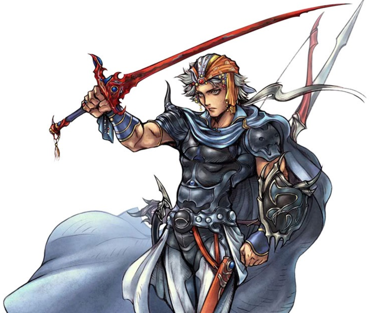 Firion in Dissidia 012