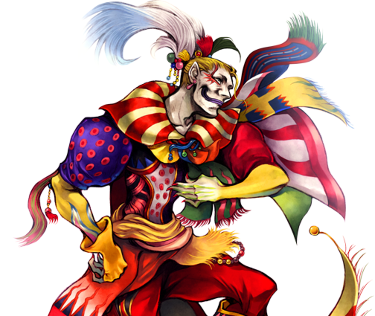 Kefka in Dissidia 012