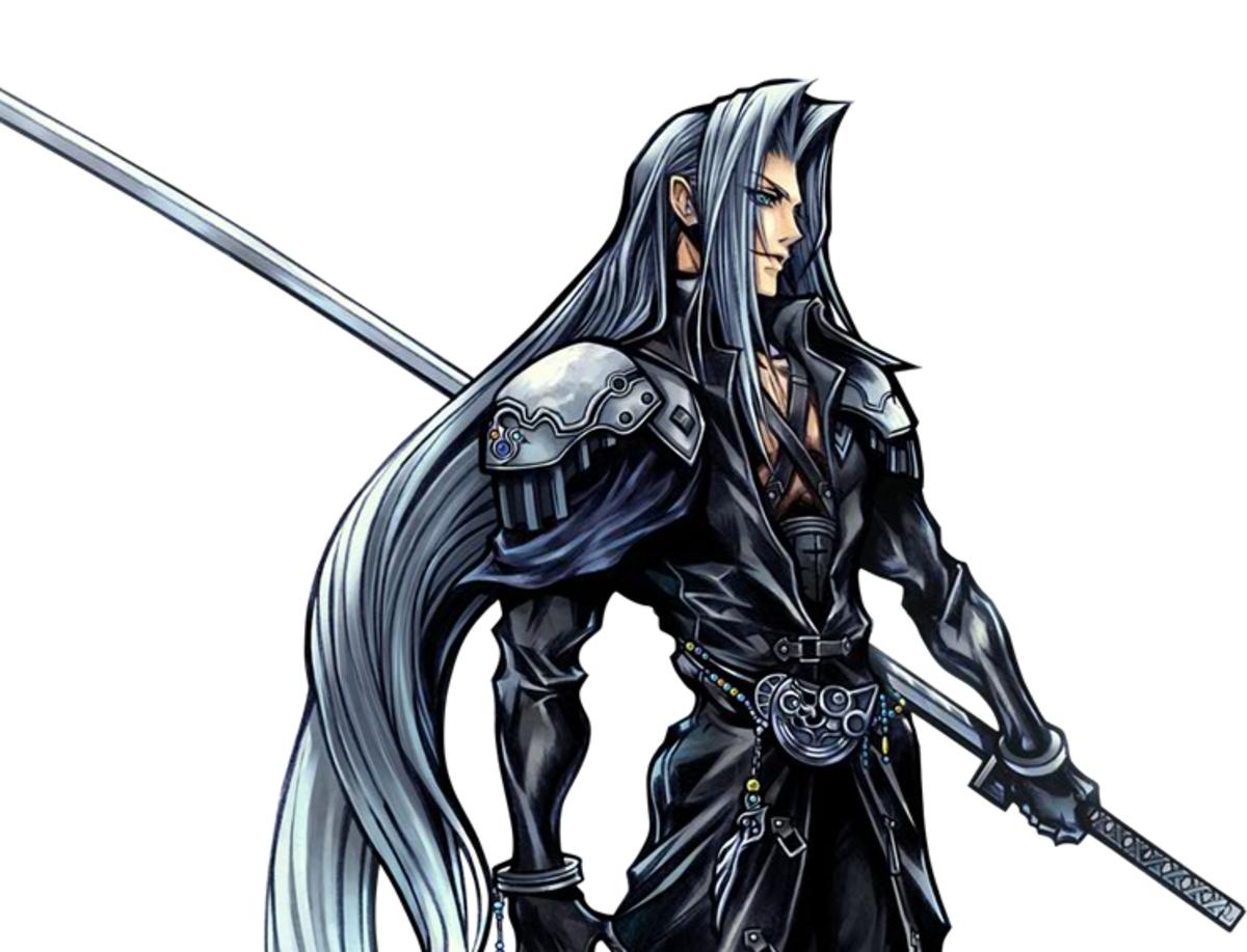 Sephiroth in Dissidia 012