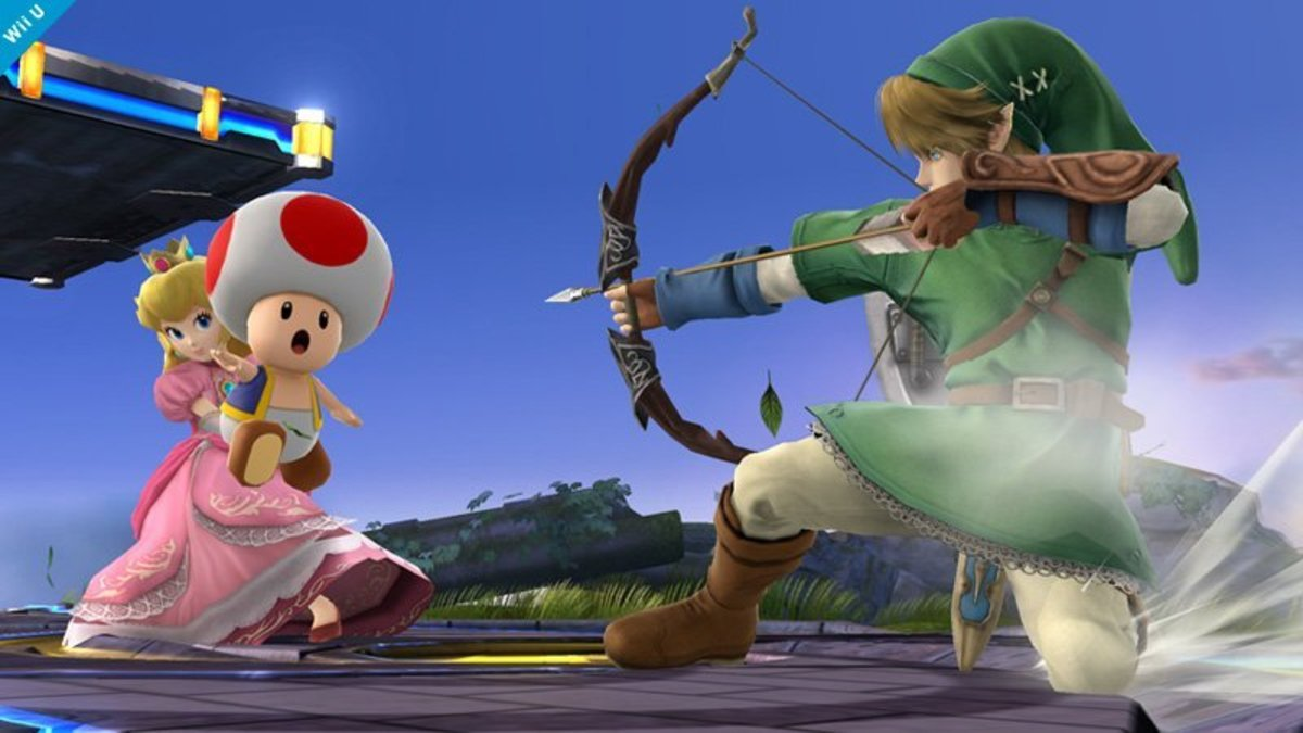 Peach's counter involved using Toad to respond to attacks.
